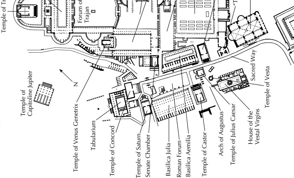 نقشه رومان فروم