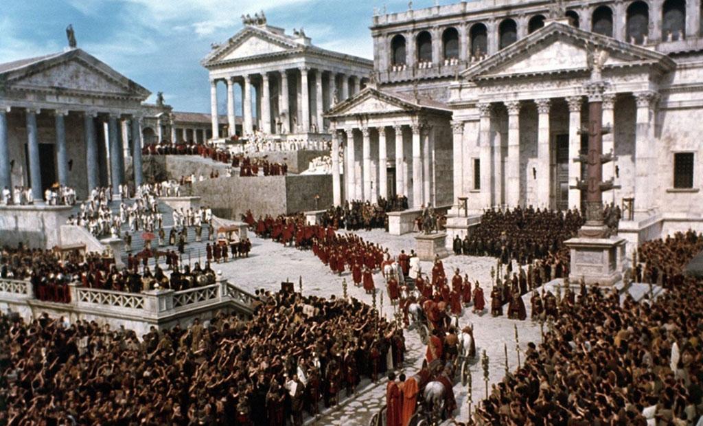 نمای بازسازی شده از دوران اوج رومان فروم