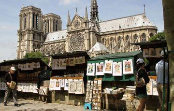 کتابفروشان رود سن پاریس