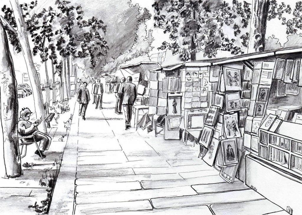 کتابفروشان رود سن، پاریس