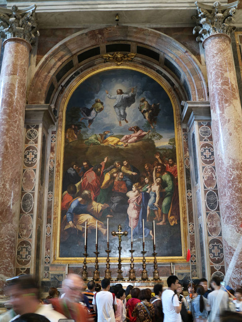 محراب تبدل عیسی کپی موزائیک نقاشی رافائل