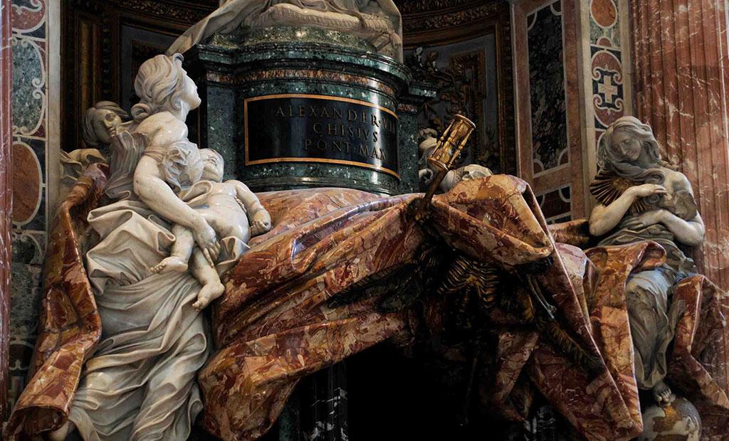 مقبره پاپ الکساندر هفتم