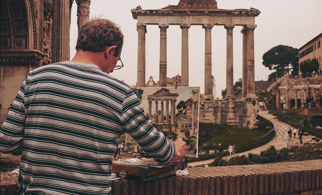 معبد ساتورن در رومان فروم