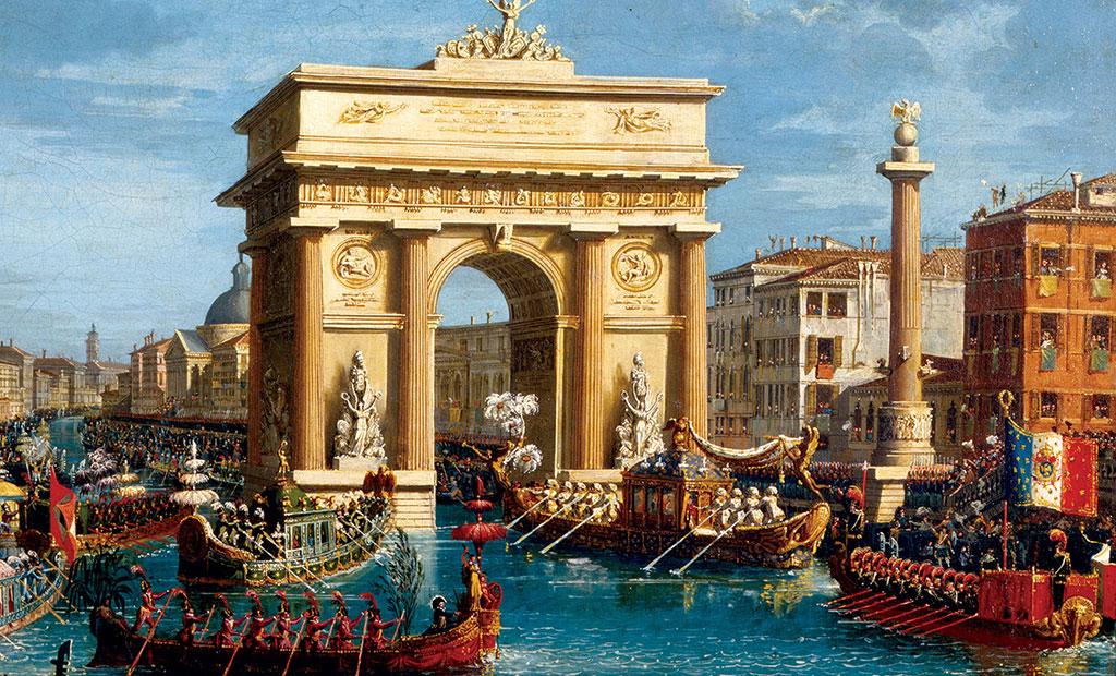 نقاشی ورود ناپلئون به ونیز - قرن نوزدهم